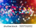 abstract blurred of blue and... | Shutterstock . vector #535731052