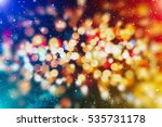 abstract blurred of blue and... | Shutterstock . vector #535731178