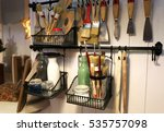 some brushes with other needed... | Shutterstock . vector #535757098