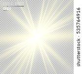 light flare special effect.... | Shutterstock .eps vector #535764916