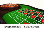 classic casino roulette and... | Shutterstock . vector #535768906