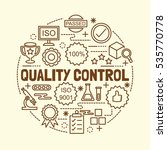 quality control minimal thin...   Shutterstock .eps vector #535770778