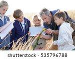 teacher taking kids to...   Shutterstock . vector #535796788