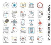 flat color line icons 20 | Shutterstock .eps vector #535803802