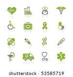 medicine   heath care   ... | Shutterstock .eps vector #53585719