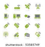 wireless   communications   ...   Shutterstock .eps vector #53585749