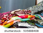 folded clothes | Shutterstock . vector #535888408