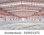 empty warehouse | Shutterstock . vector #535921372