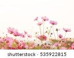 pink flowers | Shutterstock . vector #535922815