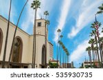 union station in los angeles ... | Shutterstock . vector #535930735