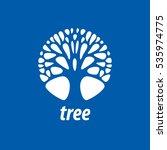 vector logo tree | Shutterstock .eps vector #535974775