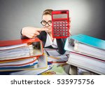calculations and results... | Shutterstock . vector #535975756