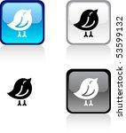 bird glossy square vibrant... | Shutterstock .eps vector #53599132