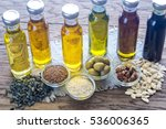 bottles with different kinds of ... | Shutterstock . vector #536006365