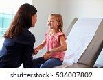 pediatrician with child in exam ...   Shutterstock . vector #536007802