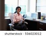 portrait of female doctor... | Shutterstock . vector #536023012