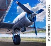 propeller of an aircraft   Shutterstock . vector #536033992