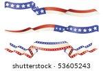 american flag red white blue... | Shutterstock .eps vector #53605243