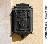 post box. | Shutterstock . vector #53605489
