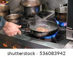 chef cooking in the kitchen | Shutterstock . vector #536083942