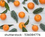 christmas  new year winter... | Shutterstock . vector #536084776
