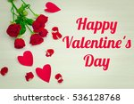 image of valentines day | Shutterstock . vector #536128768