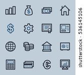 money web icons | Shutterstock .eps vector #536145106