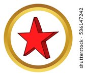 star  icon in golden circle ...