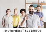 business  startup  people ... | Shutterstock . vector #536155906