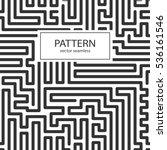 striped seamless geometric... | Shutterstock .eps vector #536161546