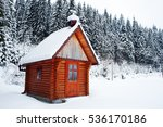 Rural Wooden Building On...