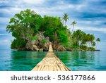 bamboo pedestrian hanging... | Shutterstock . vector #536177866
