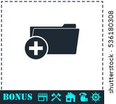 add folder icon flat. simple...