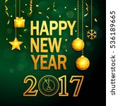 happy new year background with...   Shutterstock .eps vector #536189665