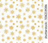 seamless pattern of falling...   Shutterstock . vector #536219086