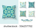 Set Of Throw Pillows In...