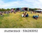 madrid   sep 10  the crowd in a ... | Shutterstock . vector #536283052