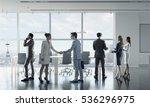 business partners handshake ....   Shutterstock . vector #536296975