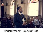 church people believe faith... | Shutterstock . vector #536304685