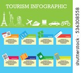 tourism related business... | Shutterstock .eps vector #536308558