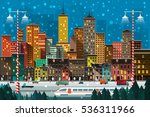 vector illustration of a big... | Shutterstock .eps vector #536311966