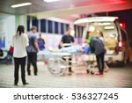 patient emergency with team... | Shutterstock . vector #536327245