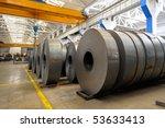 industrial warehouse   Shutterstock . vector #53633413