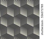 seamless 3d cube pattern.... | Shutterstock .eps vector #536372785