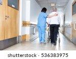 rehab for elderly people. | Shutterstock . vector #536383975