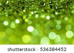 abstract green bokeh background. | Shutterstock . vector #536384452