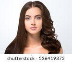 hair before after advertising.... | Shutterstock . vector #536419372