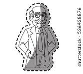isolated doctor cartoon design | Shutterstock .eps vector #536428876