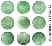 Watercolor Circles Collection...