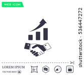 business growth concept.... | Shutterstock .eps vector #536447272